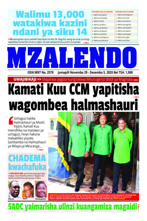 Kamati kuu CCM yapitisha wagombea  halmashauri | Mzalendo