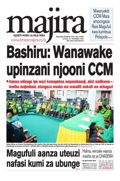 Bashiru: Wanawake upinzani njooni CCM | MAJIRA