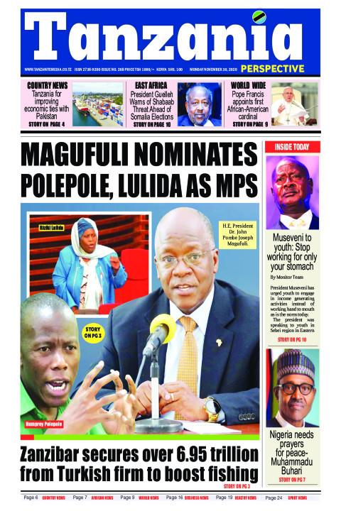 Magufuli nominates Polepole, Lulida as MPs   Tanzania Perspective