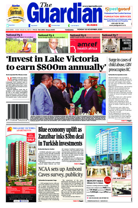 'Invest in Lake Victoria