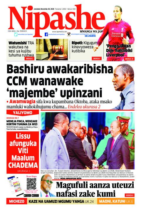 Bashiru awakaribisha CCM wanawake 'majembe' upinzani | Nipashe