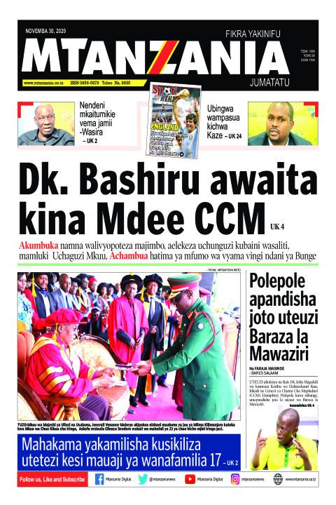 Dk. Bashiru awaita kina Mdee CCM | Mtanzania
