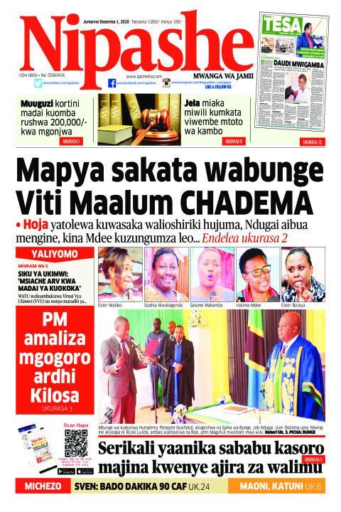 Mapya sakata wabunge viti maalum CHADEMA | Nipashe