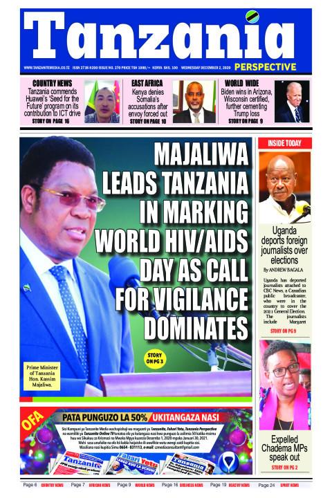 Majaliwa leads Tanzania in marking world HIV/AIDS day as cal   Tanzania Perspective