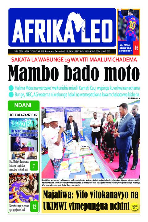 Mambo bado moto | AFRIKA LEO