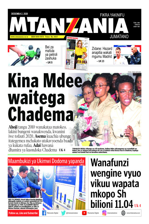 Kina Mdee waitega Chadema | Mtanzania