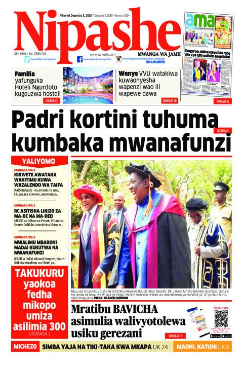 Padri kortini tuhuma  kumbaka mwanafunzi  | Nipashe