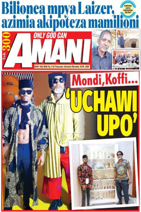 Mondi,Koffi... 'UCHAWI UPO' | AMANI