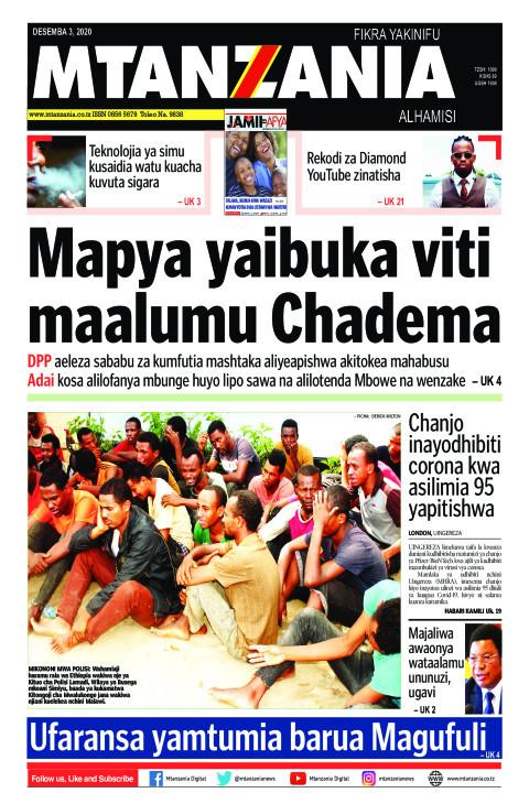 Mapya yaibuka viti maalumu Chadema | Mtanzania