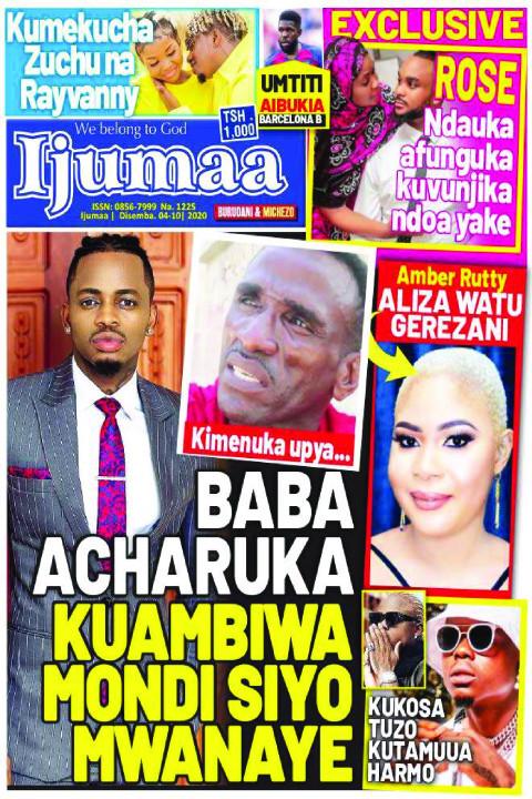 BABA ACHARUKA KUAMBIWA MONDI SIYO MWANAYE | Ijumaa Ijumaa