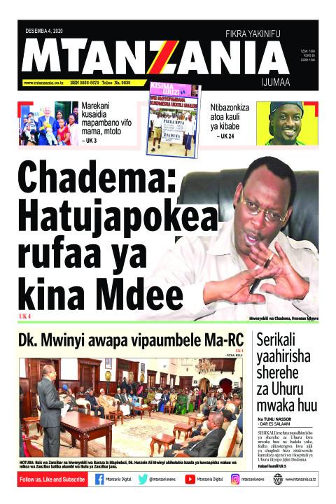 Chadema: Hatujapokea rufaa ya kina Mdee | Mtanzania