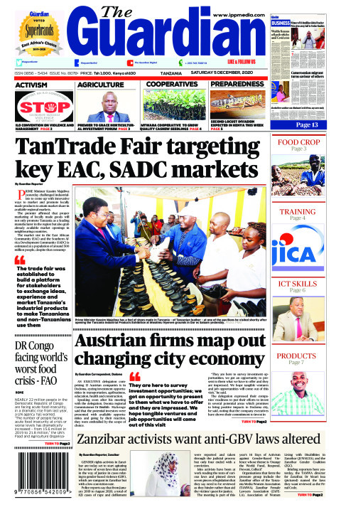 TanTrade Fair targeting key EAC, SADC markets | The Guardian