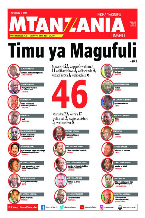 Timu ya Magufuli | Mtanzania
