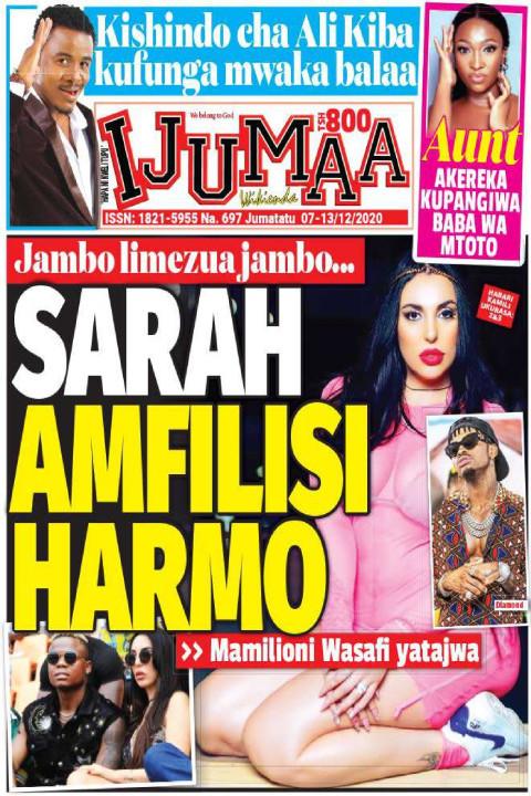 SARAH AMFILI HARMO | Ijumaa Wikienda