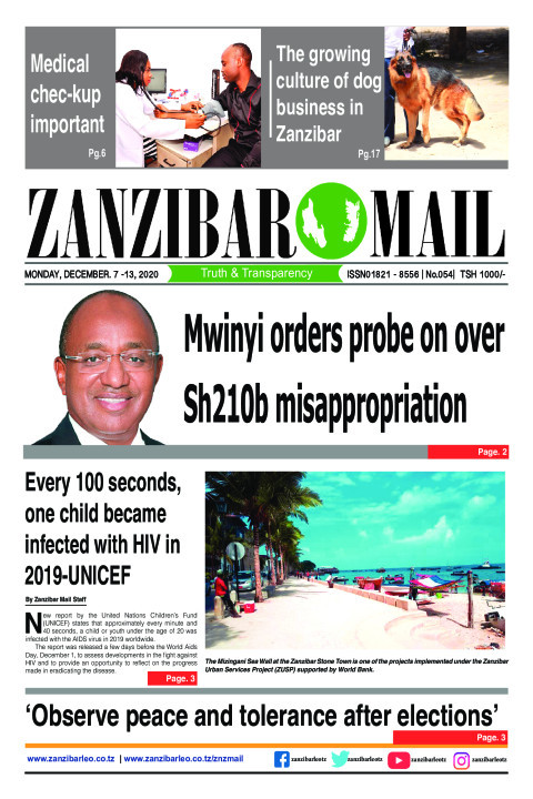 Mwinyi orders probe on over Sh210b misappropriation  | ZANZIBAR MAIL