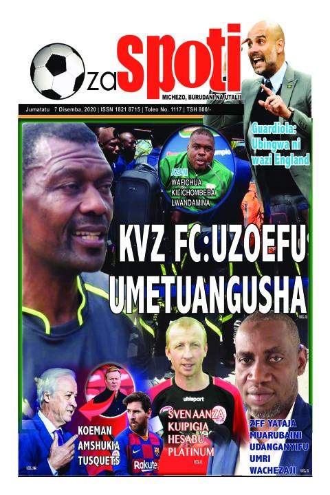 KVZ FC:UZOEFU VZ FC:UZOEFU UMETUANGUSHA | ZA SPOTI