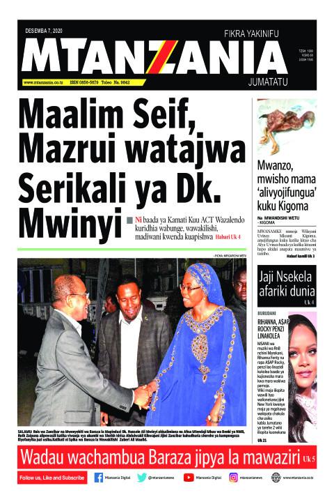 Maalim Seif, Mazrui watajwa Serikali ya Dk. Mwinyi | Mtanzania