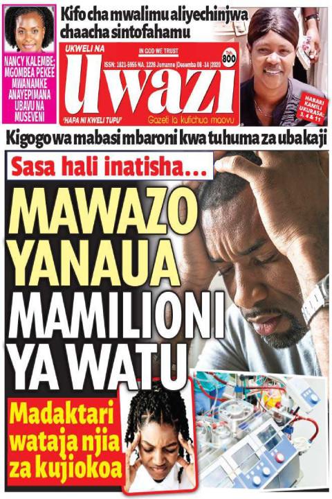 MAWAZO YANAUA MAMILIONI YA WATU | Uwazi