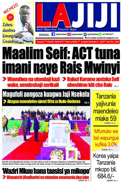 Maalim Seif: ACT tuna imani naye Rais Mwinyi  | LaJiji