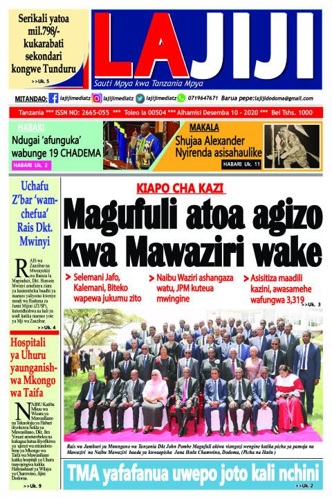 Magufuli atoa agizo kwa Mawaziri wake | LaJiji