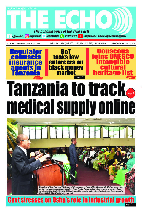 Tanzania to track medical supply online  | The ECHO