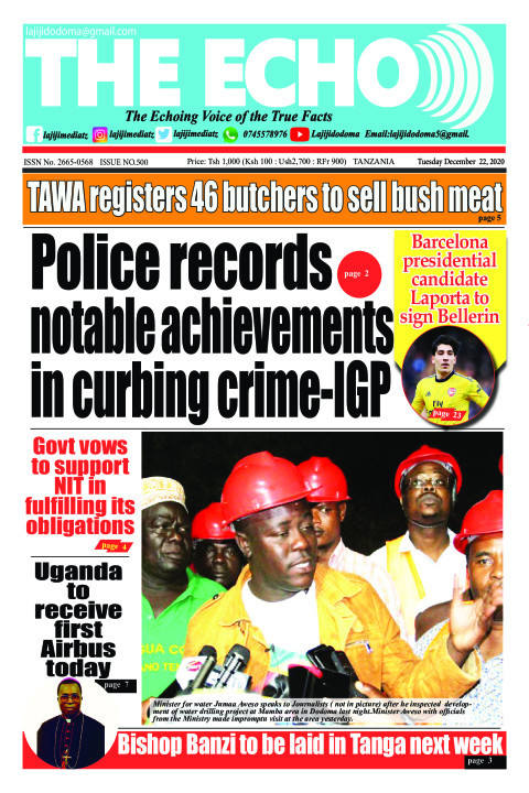Police records notable achievements in curbing crime-IGP | The ECHO