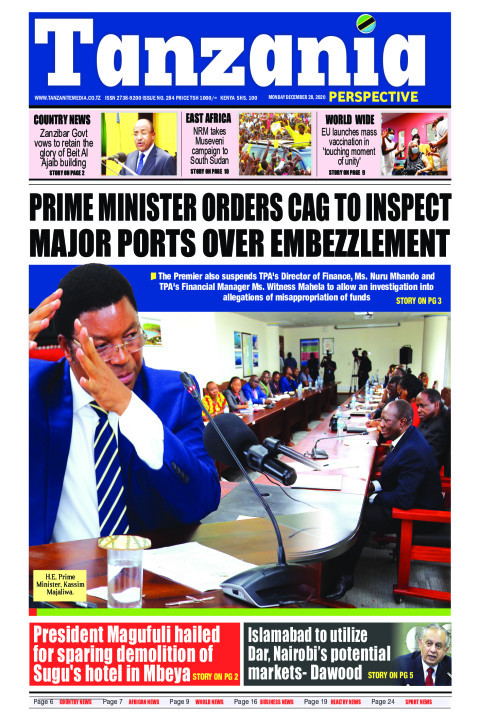 Prime Minister orders CAG to inspect major ports over embezz | Tanzania Perspective