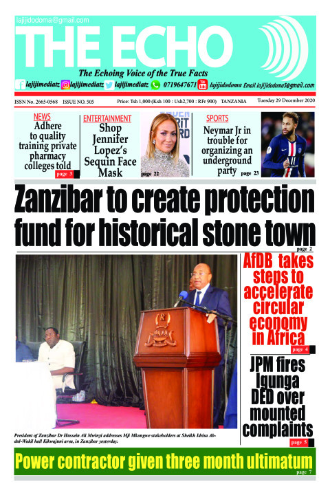 Zanzibar to create protection fund for historical stone town | The ECHO