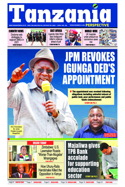 JPM revokes Igunga DED's appointment | Tanzania Perspective
