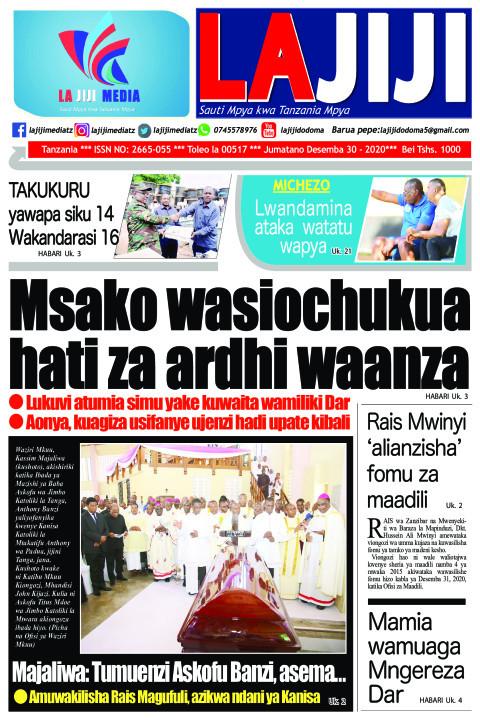 Msako wasiochukua hati za ardhi waanza   | LaJiji