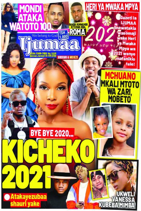 BYE BYE 2020... KICHEKO 2021 | Ijumaa Ijumaa