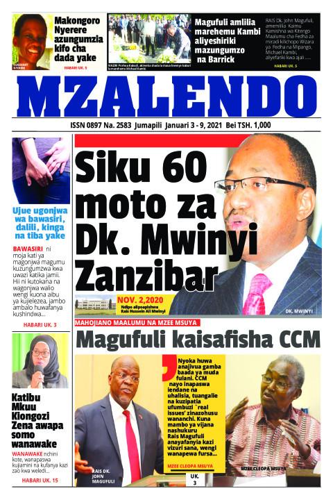 Siku 60 moto za Dk. Mwainyi Zanzibar | Mzalendo