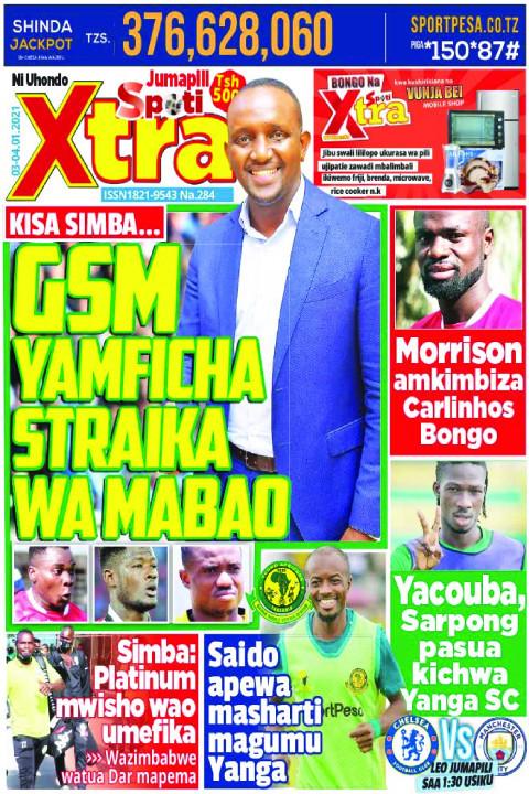 GSM YAMFICHA  STRAIKA WA MABAO | SpotiXtra Jumapili