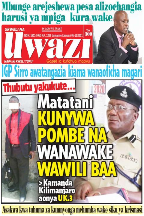 Matatani KUNYWA POMBE NA WANAWAKE WAWILI BAA | Uwazi