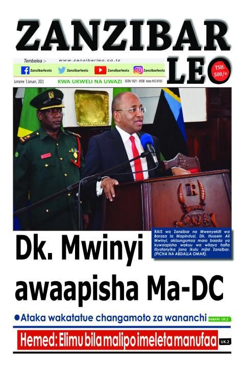 Dk. Mwinyi awaapisha Ma-DC   ZANZIBAR LEO