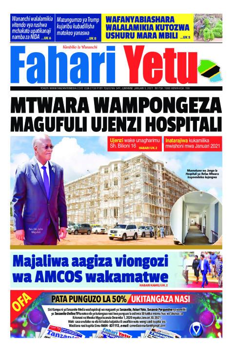 MTWARA WAMPONGEZA MAGUFULI UJENZI HOSPITALI | Fahari Yetu