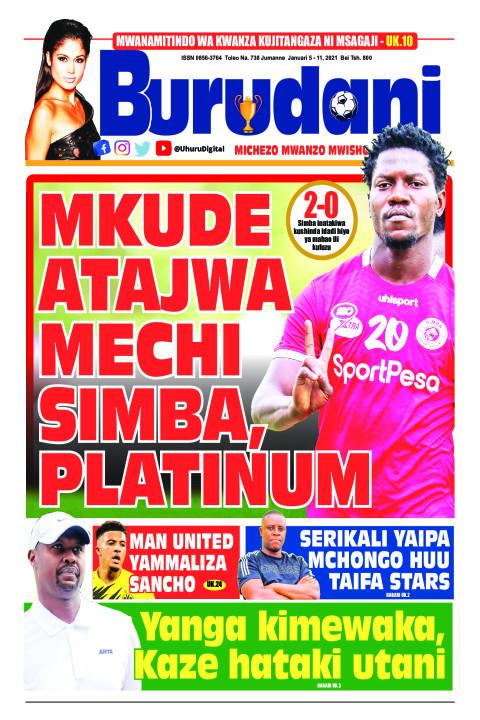 Mkude atajwa mechi Simba, Platinum | Burudani