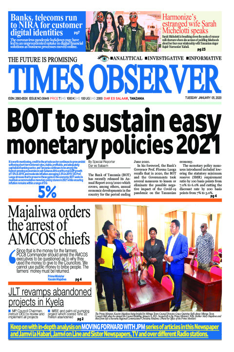 BOT to sustain easy monetary policies 2021 | Times Observer