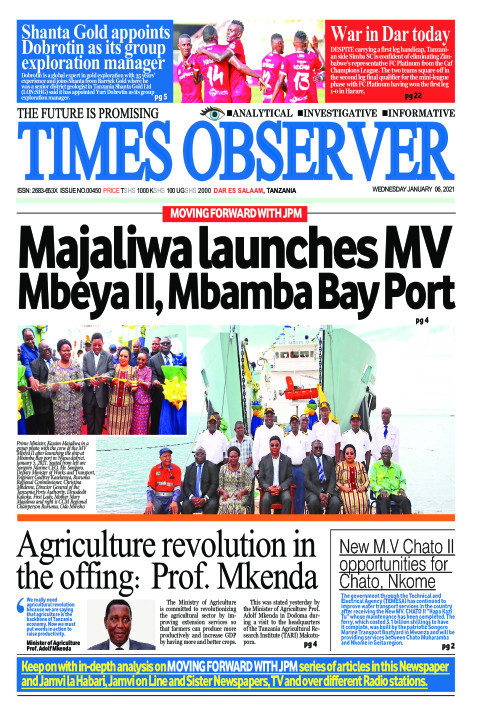 Majaliwa launches MV Mbeya II, Mbamba Bay Port | Times Observer