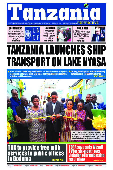 Tanzania launches ship transport on Lake Nyasa | Tanzania Perspective