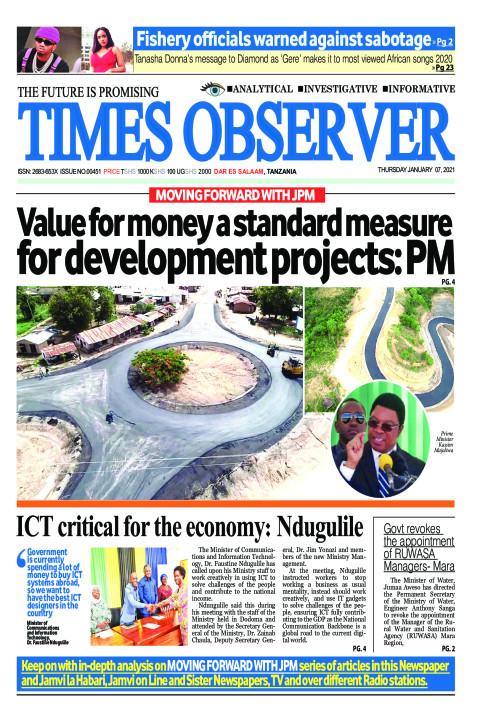 Value for money a standard measure for development projects: | Times Observer