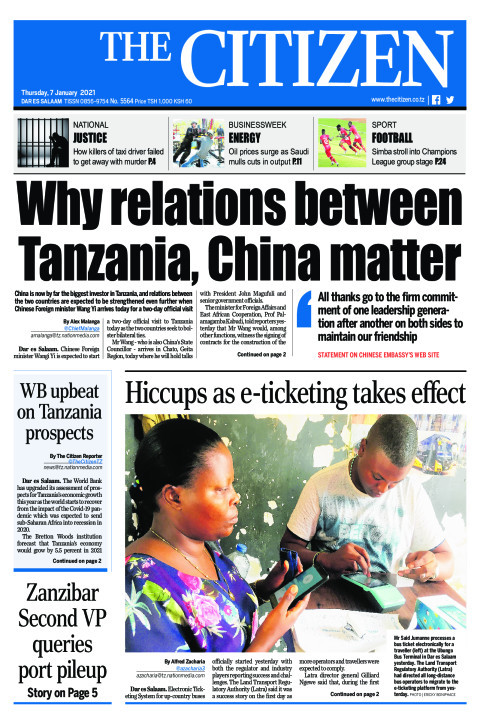 WHY RELATIONS BETWEEN TANZANIA,CHINA MATTER