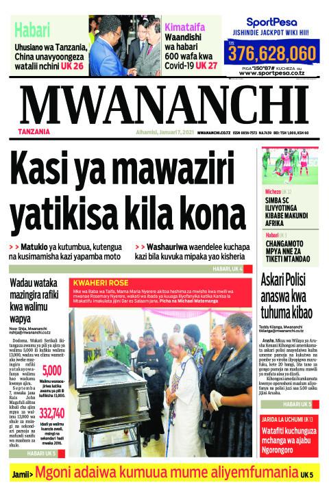KASI YA MAWAZIRI YATIKISA KILA KONA  | Mwananchi