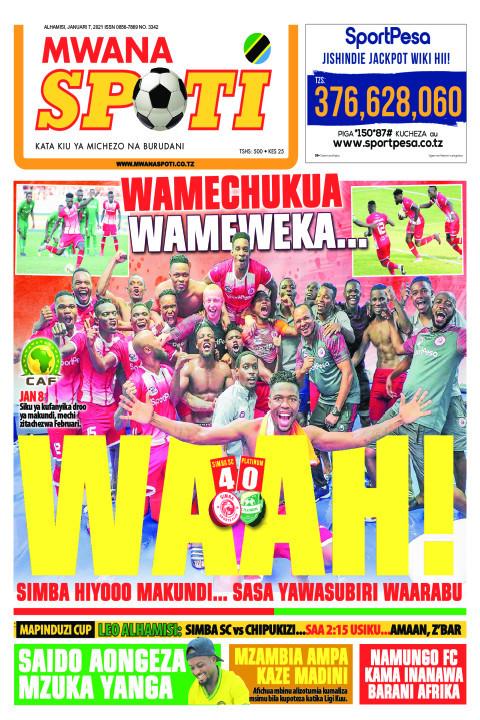 WAMECHUKUA WAMEWEKA WAAH!  | Mwanaspoti
