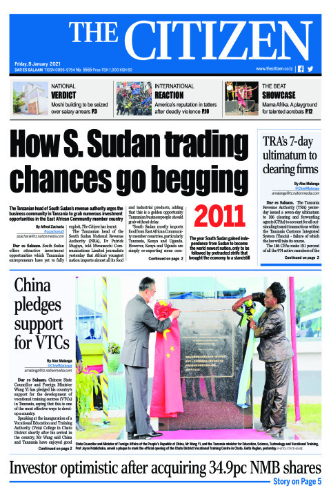 HOW S.SUDAN TRADING CHANCES GO BEGGING 