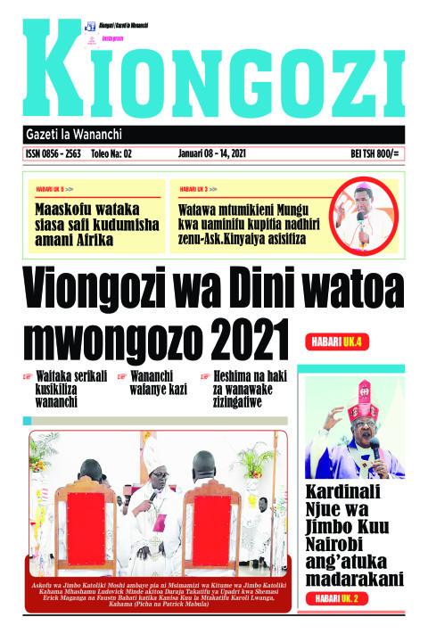 Viongozi wa Dini watoa mwongozo 2021 | Kiongozi