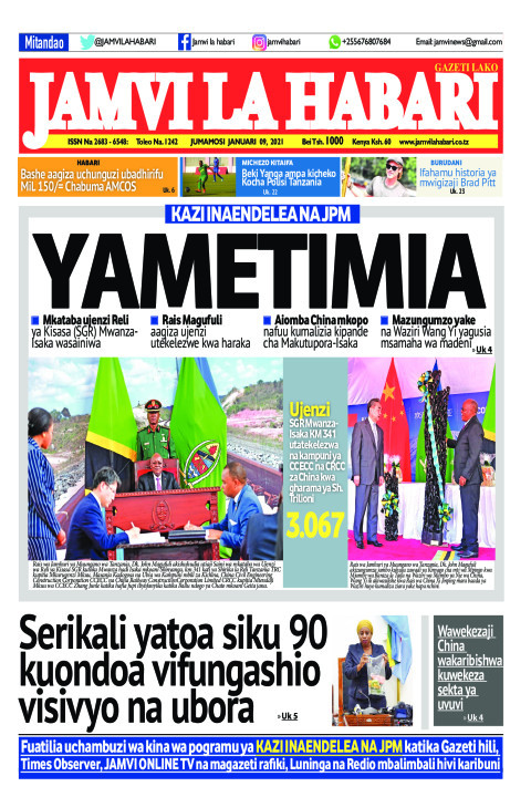 YAMETIMIA  | Jamvi La Habari