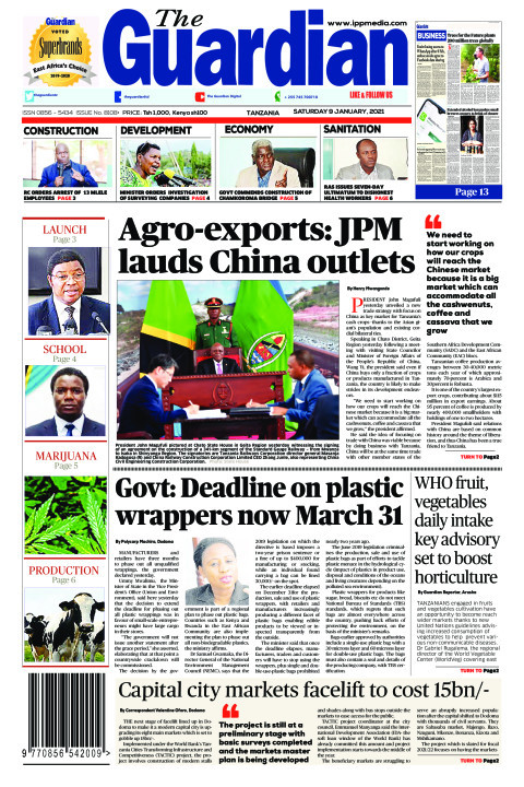 Agro-exports: JPM lauds China outlets | The Guardian