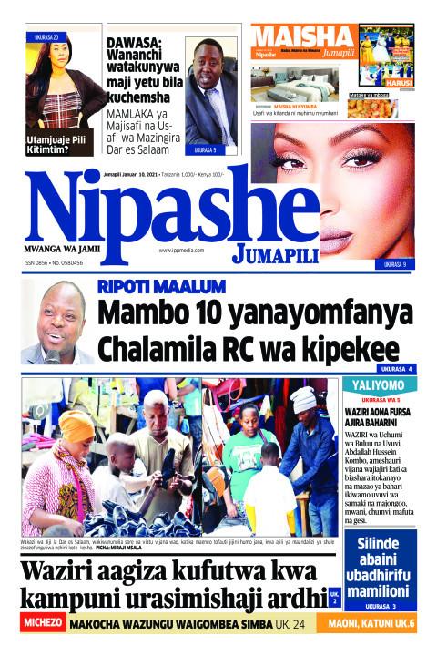 RIPOTI MAALUM Mambo 10 yanayomfanya Chalamila RC wa kipekee | Nipashe