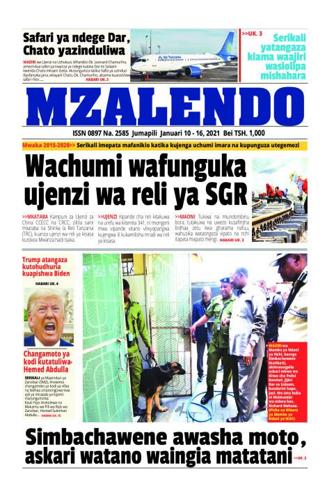 Wachumi wafunguka ujenzi wa reli ya SGR | Mzalendo